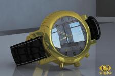 Предметная 3D-визуализация часов Continental, купи